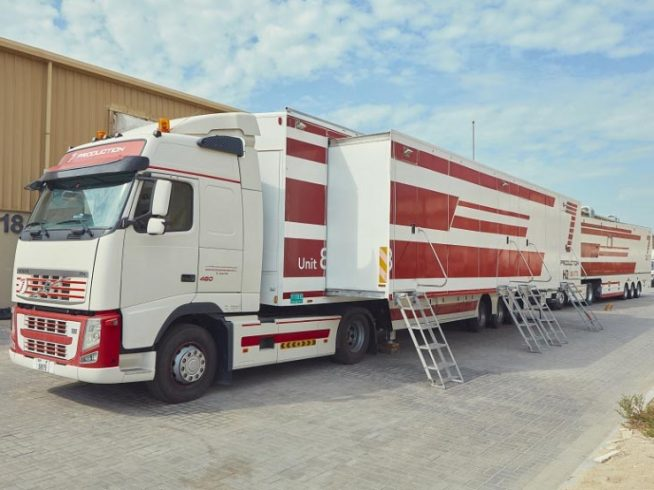 4K Truck With Grass Valley Technology