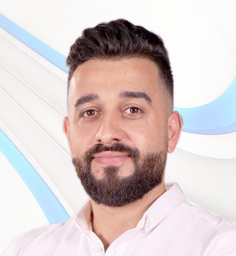 A photo of bss team member BILAL ZABADI