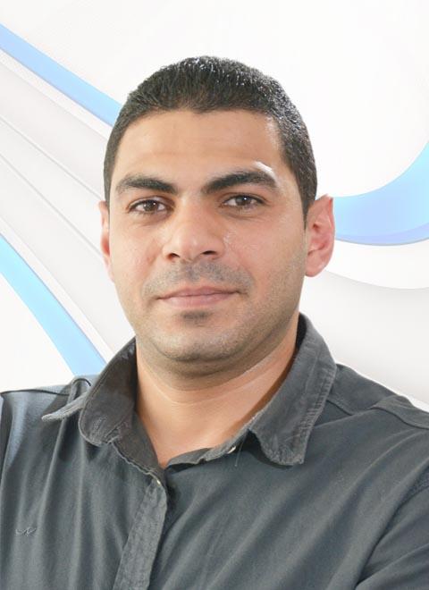 A photo of bss team member Ibrahim broadcast services, uae broadcast, uae broadcasting, studio