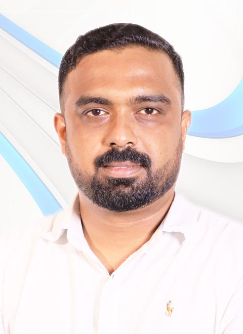 A photo of our member Sreedev